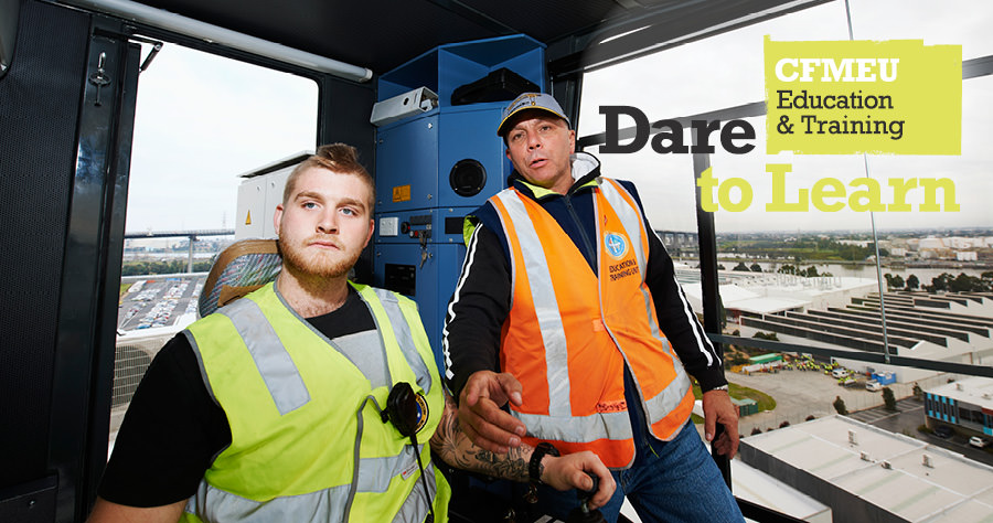 CFMEU Training - Dare to Learn