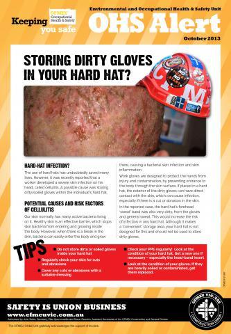 Dirty gloves in hard hats | CFMEU South Australia